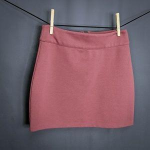 Silence & Noise Skirt Size Medium Mauve Pink Women